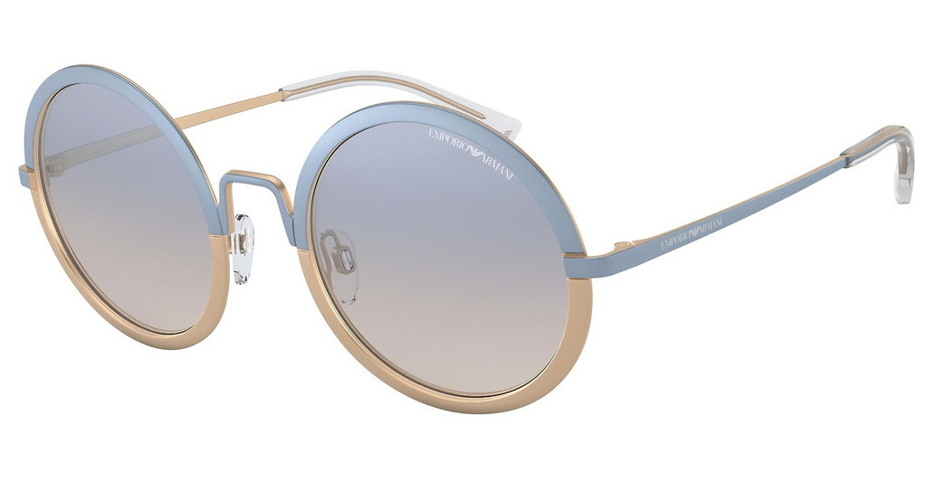 Emporio Armani   EA2077 3270V6 CLEAR GRADIENT BLUEMT LIGHT BLUE/MT LIGHT BRONZE