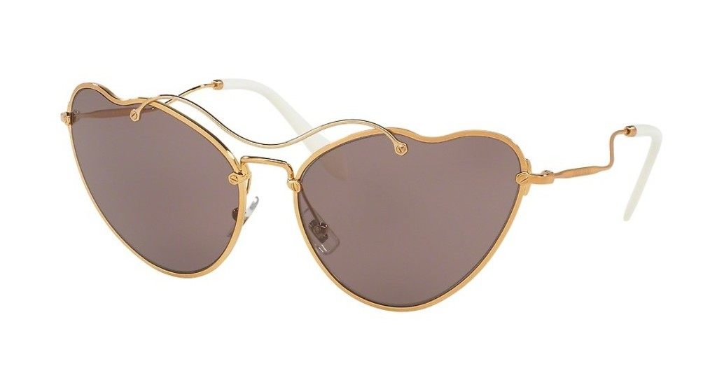 Miu Miu   MU 55RS 7OE6X1 PURPLE BROWNANTIQUE GOLD