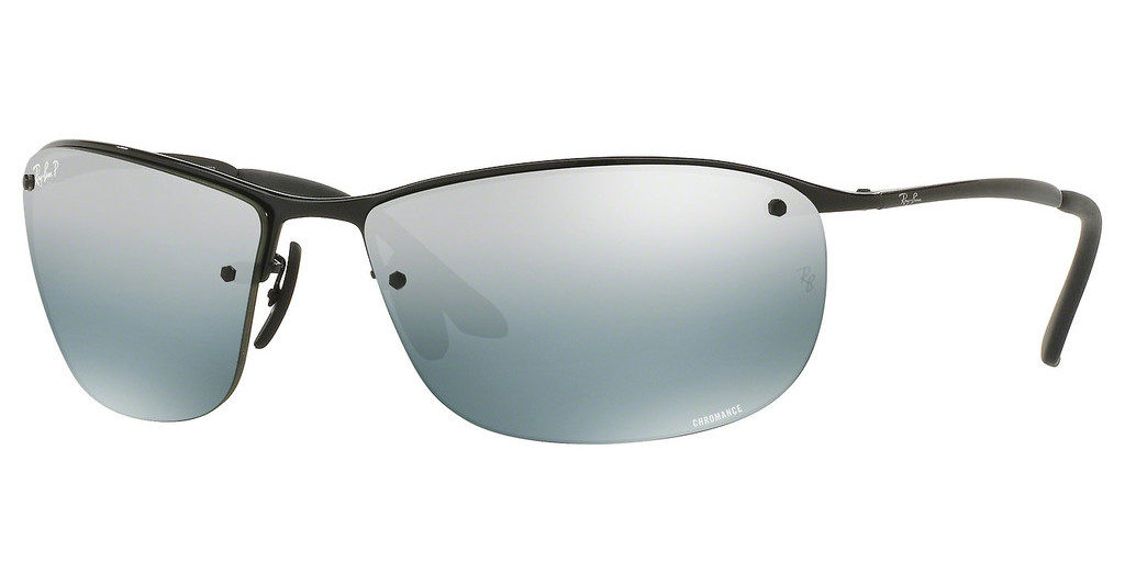 Ray-Ban   RB3542 002/5L BLUE MIRROR SILVER POLARSHINY BLACK