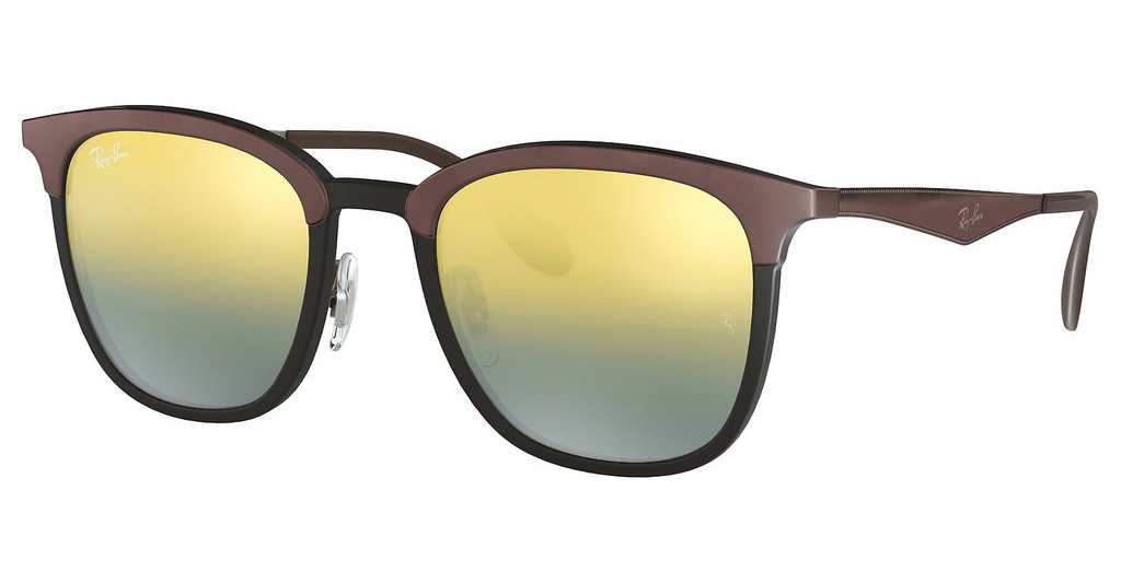 Ray-Ban   RB4278 6285A7 GREEN MIRROR SILVER GRAD GOLDBLACK/MATTE BROWN