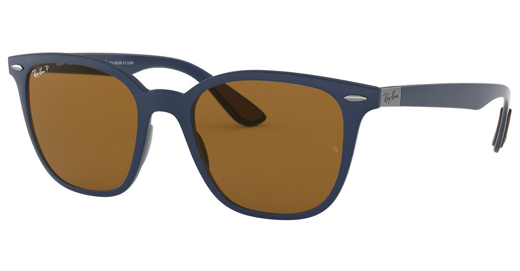 Ray-Ban   RB4297 633183 POLAR BROWNMATTE DARK BLUE
