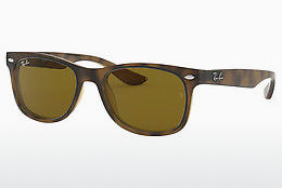 Aurinkolasit Ray-Ban Junior Junior New Wayfarer (RJ9052S 152/3) - Ruskea, Havanna