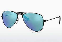 Aurinkolasit Ray-Ban Junior Junior Aviator (RJ9506S 201/55) - Musta