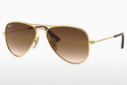 Aurinkolasit Ray-Ban Junior Junior Aviator (RJ9506S 223/13) - Kulta