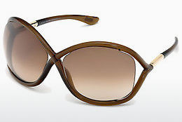 Aurinkolasit Tom Ford Whitney (FT0009 692) - Ruskea, Dark, Shiny