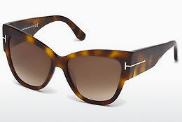Aurinkolasit Tom Ford Anoushka (FT0371 53F) - Havanna, Yellow, Blond, Brown