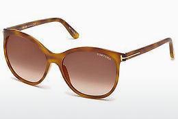Aurinkolasit Tom Ford FT0568 53G - Havanna, Yellow, Blond, Brown
