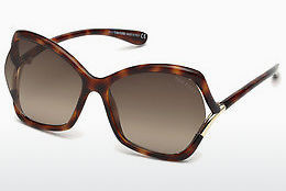 Aurinkolasit Tom Ford FT0579 53K - Havanna, Yellow, Blond, Brown