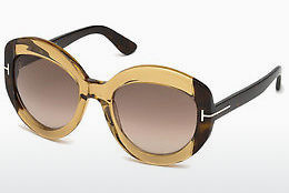 Aurinkolasit Tom Ford FT0581 47F - Ruskea, Bright