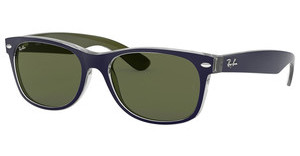 Ray-Ban RB2132 6188 GREENMT BLUE/MILITARY GREEN