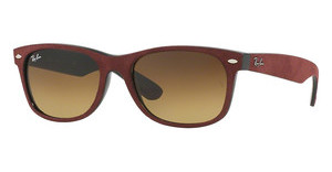 Ray-Ban RB2132 624085 BROWN GRADIENTBLACK/TOP BORDO' ALCANTARA