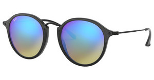 Ray-Ban RB2447 901/4O MIRROR GRADIENT BLUESHINY BLACK