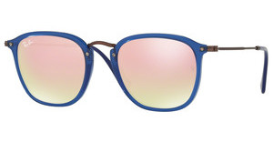 Ray-Ban RB2448N 62547O COPPER FLASH GRADIENTTRASPARENT BLUE
