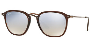 Ray-Ban RB2448N 62569U GREY FLASH GRADIENTSHINY TRASPARENT BROWN