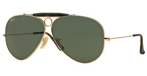 Ray-Ban RB3138 181 CRYSTAL GREENGOLD
