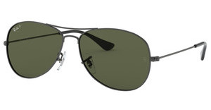 Ray-Ban RB3362 004/58 CRYSTAL GREEN POLARIZEDGUNMETAL