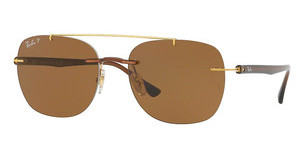Ray-Ban RB4280 628783 POLAR BROWNBROWN