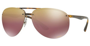 Ray-Ban RB4293CH 710/6B PURPLE MIR GOLD GRADIENT POLARHAVANA