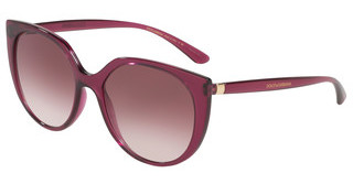 Dolce & Gabbana DG6119 17548H CLEAR GRADIENT DARK VIOLETTRANSPARENT DARK CHERRY