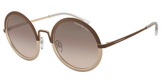 Emporio Armani EA2077 326813 BROWN GRADIENTMT BROWN/MT LIGHT BRONZE