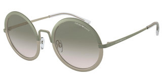 Emporio Armani EA2077 32692C LIGHT BROWN GRAD LIGHT GREYMT MILITARY GREEN/MT LT BRONZE