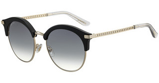 Jimmy Choo HALLY/S 807/9O DARK GREY SFBLACK