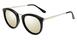 Le Specs NO SMIRKING LSP1602145 GOLD REVO MIRRORMATTE BLACK