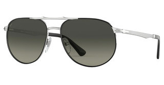 Persol PO2455S 107471 GREY GRADIENT DARK GREYSILVER/BLACK
