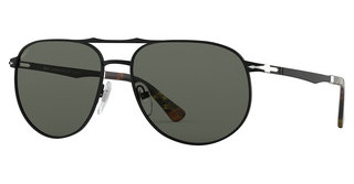 Persol PO2455S 107858 GREEN POLARDEMI GLOSS BLACK