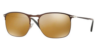 Persol PO7359S 1072W4 LIGHT BROWN MIRROR GOLDMATTE BROWN/BROWN