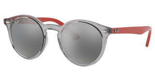 Ray-Ban Junior RJ9064S 70636G GREY MIRROR SILVERTRANSPARENT GREY