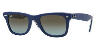 Ray-Ban RB2140 112396 BLUE FADED BROWNTOP BLUE ON TEXTURE MUSIC