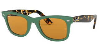 Ray-Ban RB2140 1240N9 YELLOW POLARGREEN