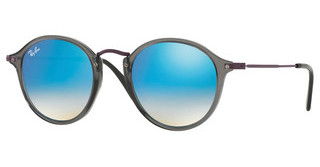 Ray-Ban RB2447N 62554O BLUE FLASH GRADIENTTRASPARENT GREY