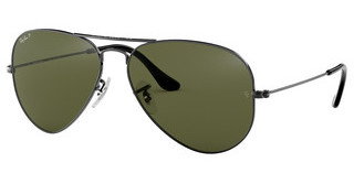 Ray-Ban RB3025 004/58 CRYSTAL GREEN POLARIZEDGUNMETAL