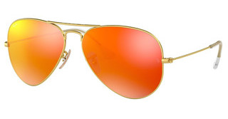 Ray-Ban RB3025 112/69 CRYSTAL BROWN MIRROR ORANGEMATTE GOLD