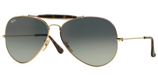 Ray-Ban RB3029 181/71 LIGHT GREY GRADIENT DARK GREYGOLD