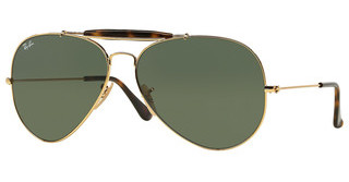 Ray-Ban RB3029 181 DARK GREENGOLD