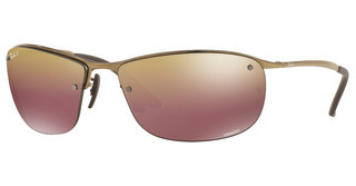 Ray-Ban RB3542 197/6B BROWN MIRROR GOLD POLARSHINY BROWN