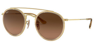Ray-Ban RB3647N 912443 BROWN GRADIENT GREYGOLD