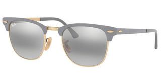Ray-Ban RB3716 9158AH GREY BI-MIRROR GREYGOLD ON TOP MATTE GRE