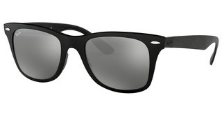 Ray-Ban RB4195 601S88 GREY MIRROR SILVER GRADIENTMATTE BLACK