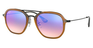 Ray-Ban RB4273 62588B BLUE FLASH GRADIENTSHINY TRASPARENT BROWN