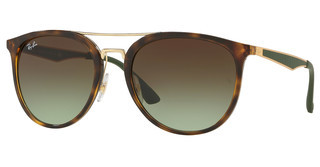 Ray-Ban RB4285 6372E8 GREEN GRADIENT BROWNHAVANA