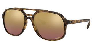 Ray-Ban RB4312CH 894/6B PURPLE MIR GOLD GRADIENT POLARMATTE HAVANA