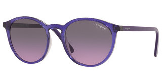 Vogue VO5215S 284890 VIOLET GRADIENT GREYTOP VIOLET ON TRANSPARENT GREY