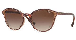 Vogue VO5255S 269513 BROWN GRADIENTTOP HAVANA/TEXT BEIGE BROWN