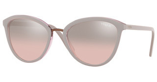 Vogue VO5270S 27587E LIGHT PINK MIRROR GRAD SILVERTOP GREY/TRANSP PINK