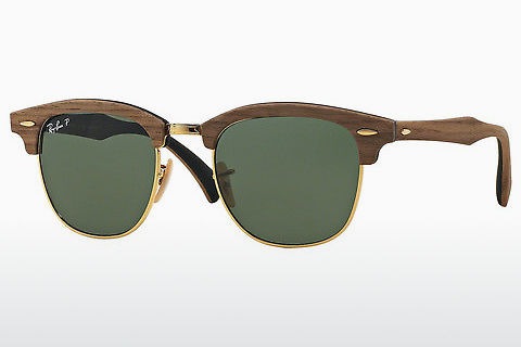 Aurinkolasit Ray-Ban Clubmaster Wood (RB3016M 118158)