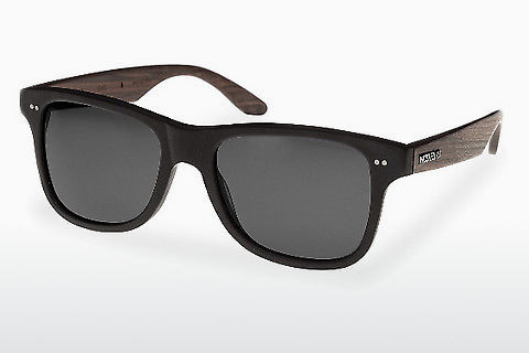 Aurinkolasit Wood Fellas Lehel (10757 rosewood/black/grey)